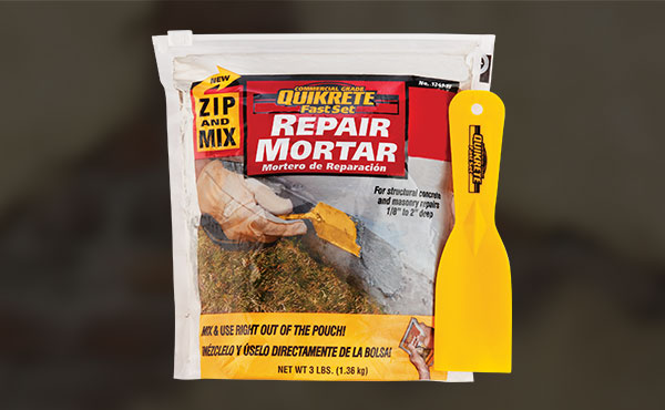 Quikrete FastSet Repair Mortar Mix
