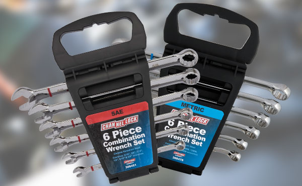 Channellock 6-Pc. SAE or Metric Wrench Set