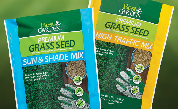 Sun & Shade or Play & High Traffic Grass Seed