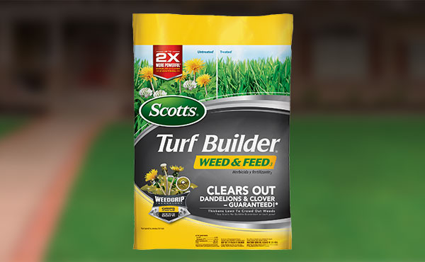 Scotts Turf Builder Weed & Feed Lawn Fertilizer