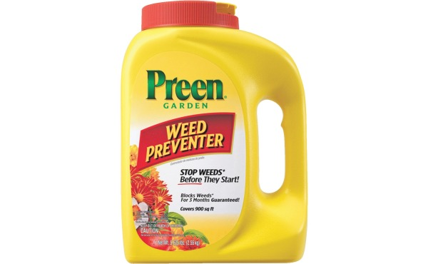 Preen 5.6 Lb. Ready To Use Granules Garden Grass & Weed Preventer